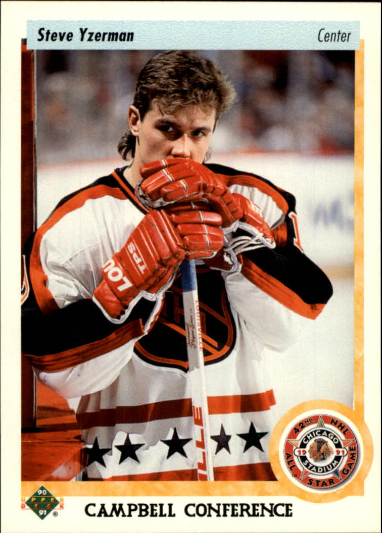 1995-96 Upper Deck #218 Steve Yzerman 5