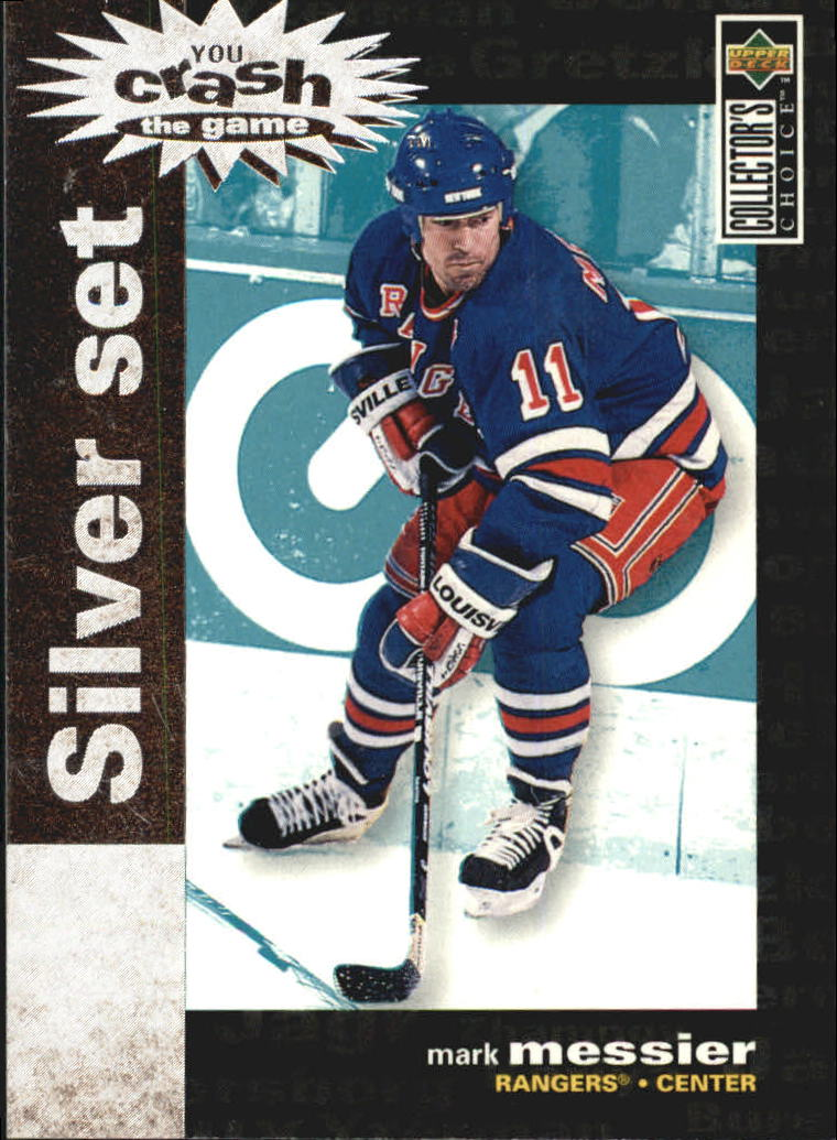 1995-96 Collector's Choice Crash the Game Silver Prize #C6 Mark Messier