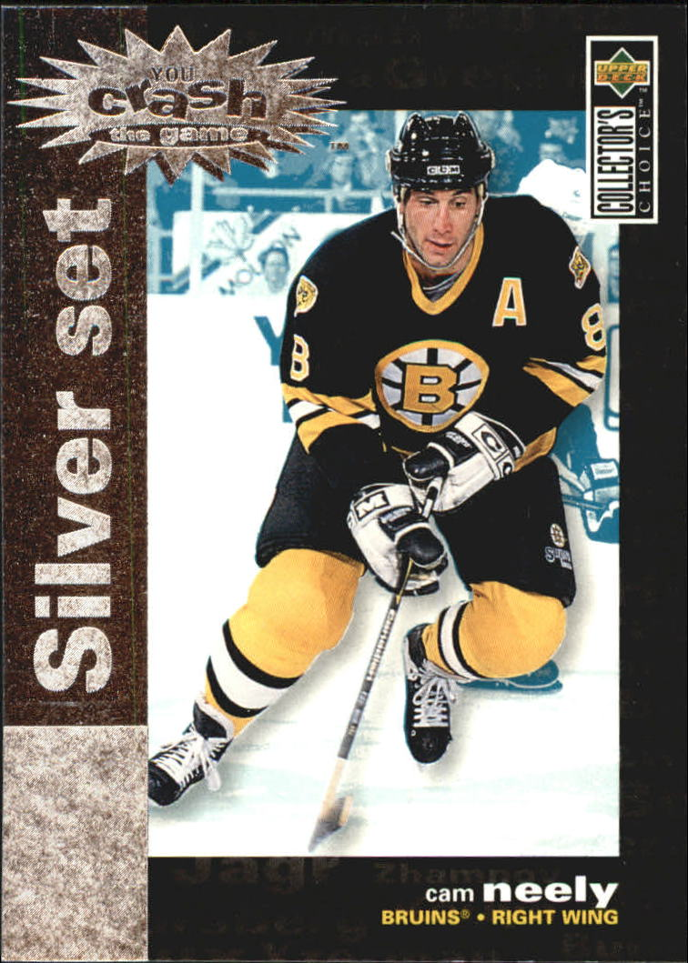 1995-96 Collector's Choice Crash the Game Silver Prize #C14 Cam Neely