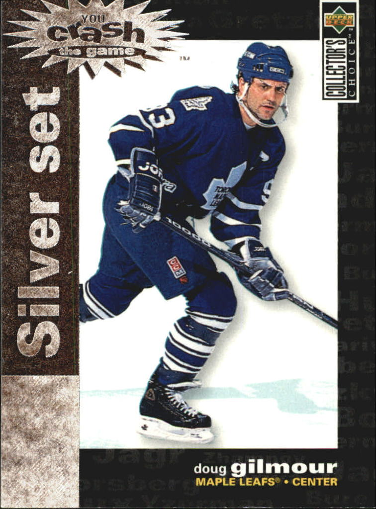 1995-96 Collector's Choice Crash the Game Silver Prize #C21 Doug Gilmour