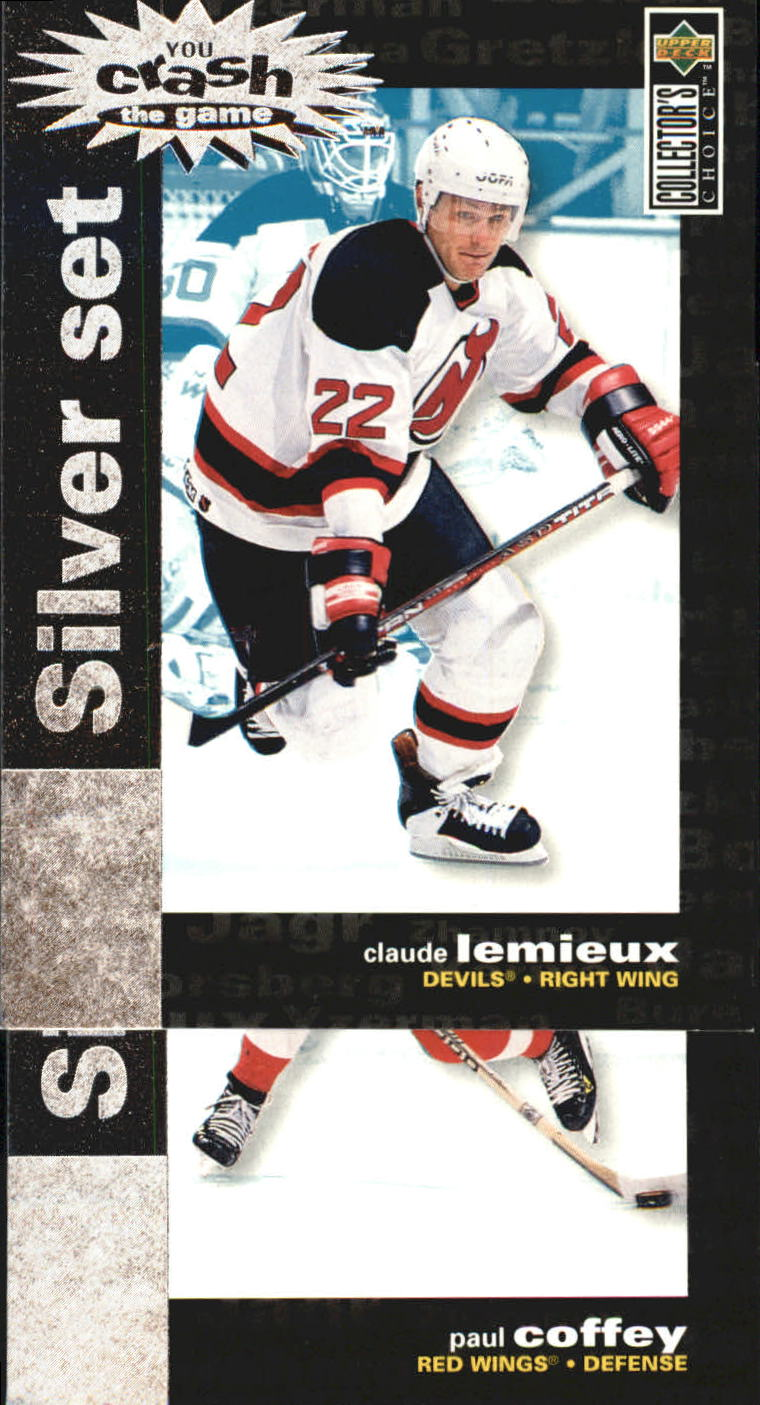 1995-96 Collector's Choice Crash the Game Silver Prize #C28 Claude Lemieux