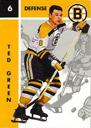 1995-96 Parkhurst '66-67 #6 Ted Green