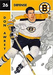 1995-96 Parkhurst '66-67 #12 Don Awrey