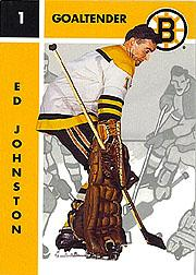 1995-96 Parkhurst '66-67 #18 Ed Johnston