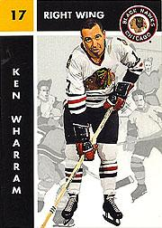 1995-96 Parkhurst '66-67 #29 Ken Wharram