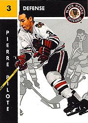 1995-96 Parkhurst '66-67 #34 Pierre Pilote