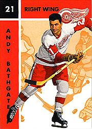 1995-96 Parkhurst '66-67 #44 Andy Bathgate