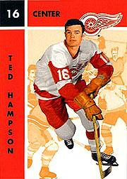 1995-96 Parkhurst '66-67 #47 Ted Hampson