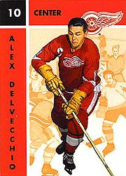 1995-96 Parkhurst '66-67 #53 Alex Delvecchio