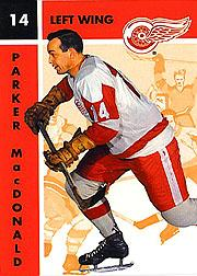 1995-96 Parkhurst '66-67 #55 Parker MacDonald
