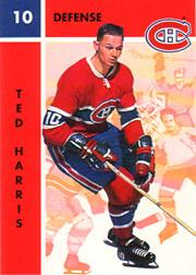 1995-96 Parkhurst '66-67 #63 Ted Harris