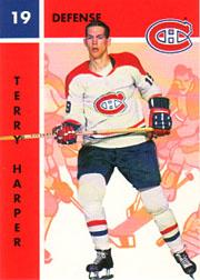 1995-96 Parkhurst '66-67 #66 Terry Harper