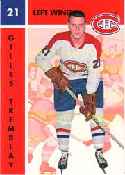 1995-96 Parkhurst '66-67 #71 Gilles Tremblay