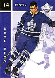 1995-96 Parkhurst '66-67 #100 Dave Keon
