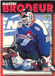 1995-96 Post Upper Deck #2 Martin Brodeur