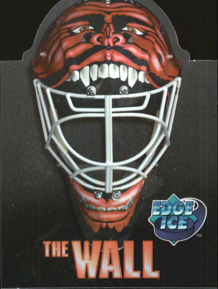 1996 Collector's Edge Ice The Wall #TW10 Mike Dunham