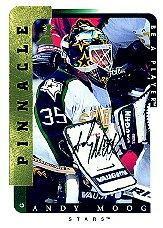1996-97 Be A Player Autographs #7 Andy Moog