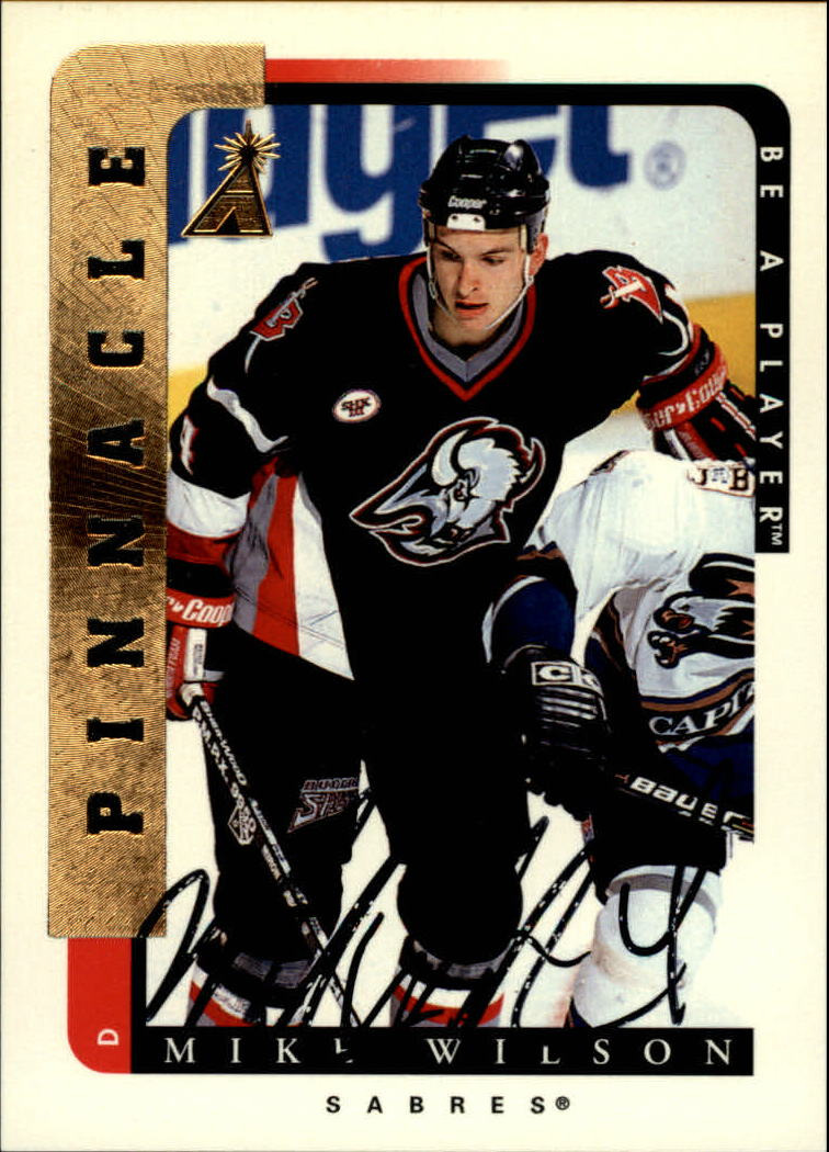 1996-97 Be A Player Autographs #23 Mike Wilson
