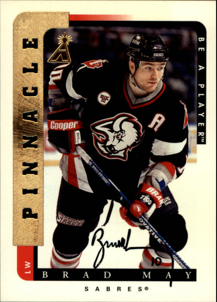 1996-97 Be A Player Autographs #52 Brad May