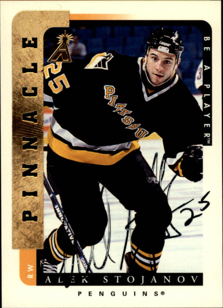 1996-97 Be A Player Autographs #80 Alek Stojanov