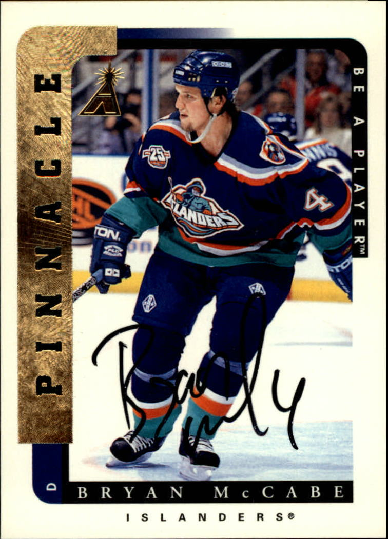 1996-97 Be A Player Autographs #162 Bryan McCabe