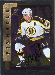 1996-97 Be A Player Autographs Silver #193 Jeff Odgers