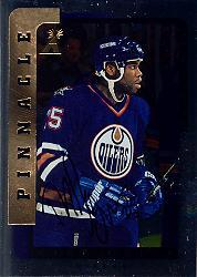 1996-97 Be A Player Autographs Silver #220 Mike Grier