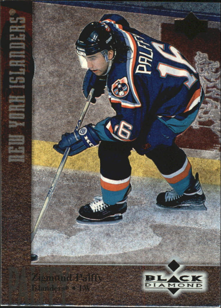 1996-97 Black Diamond #6 Zigmund Palffy