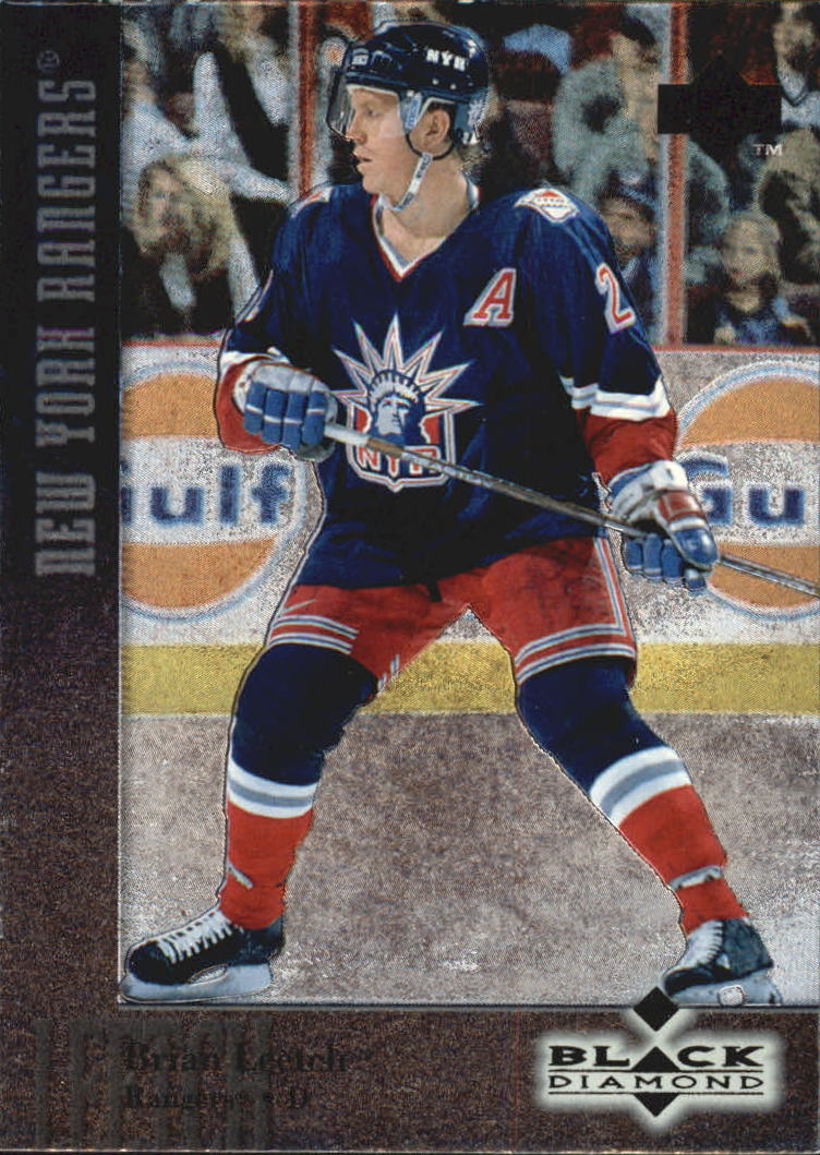 1996-97 Black Diamond #12 Brian Leetch