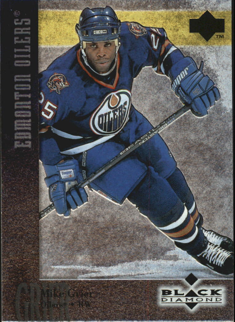 1996-97 Black Diamond #15 Mike Grier RC