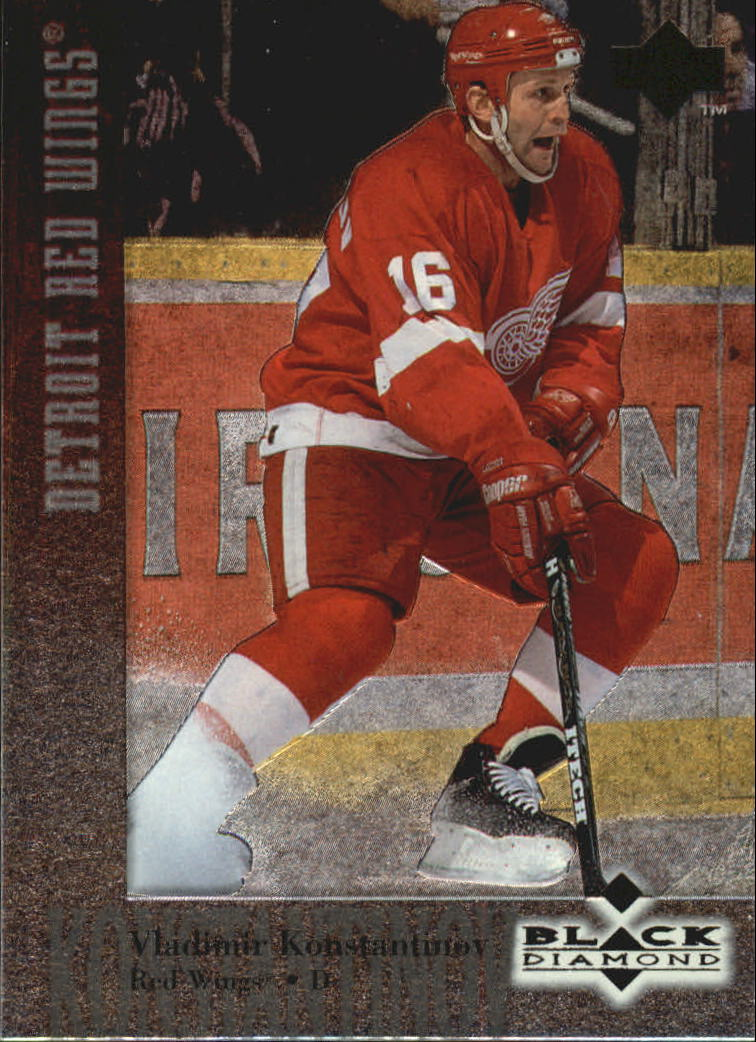1996-97 Black Diamond #16 Vladimir Konstantinov