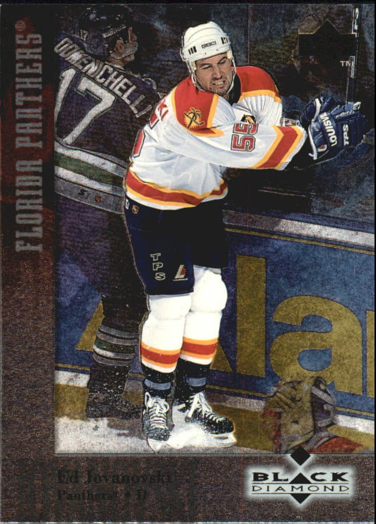 1996-97 Black Diamond #18 Ed Jovanovski