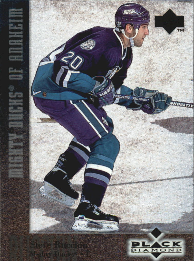 1996-97 Black Diamond #20 Steve Rucchin