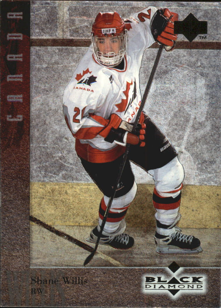 1996-97 Black Diamond #26 Shane Willis RC