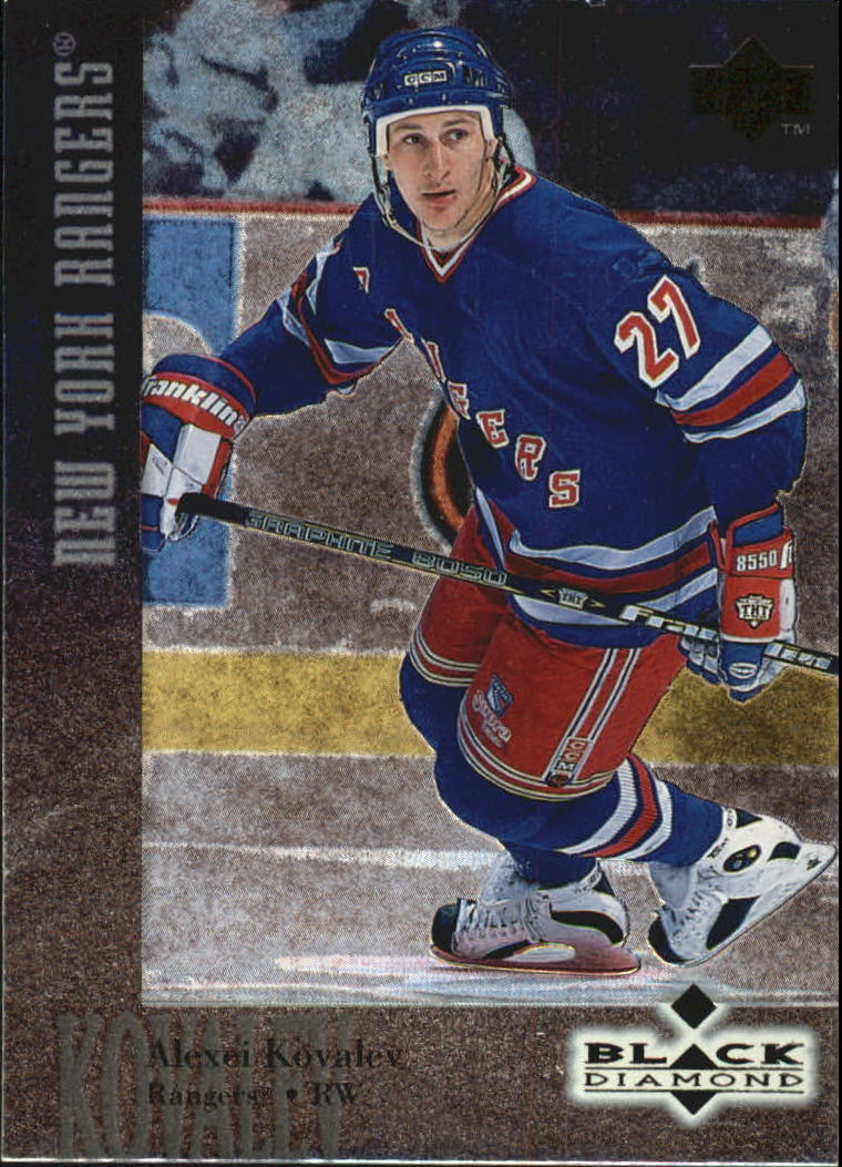 1996-97 Black Diamond #27 Alexei Kovalev