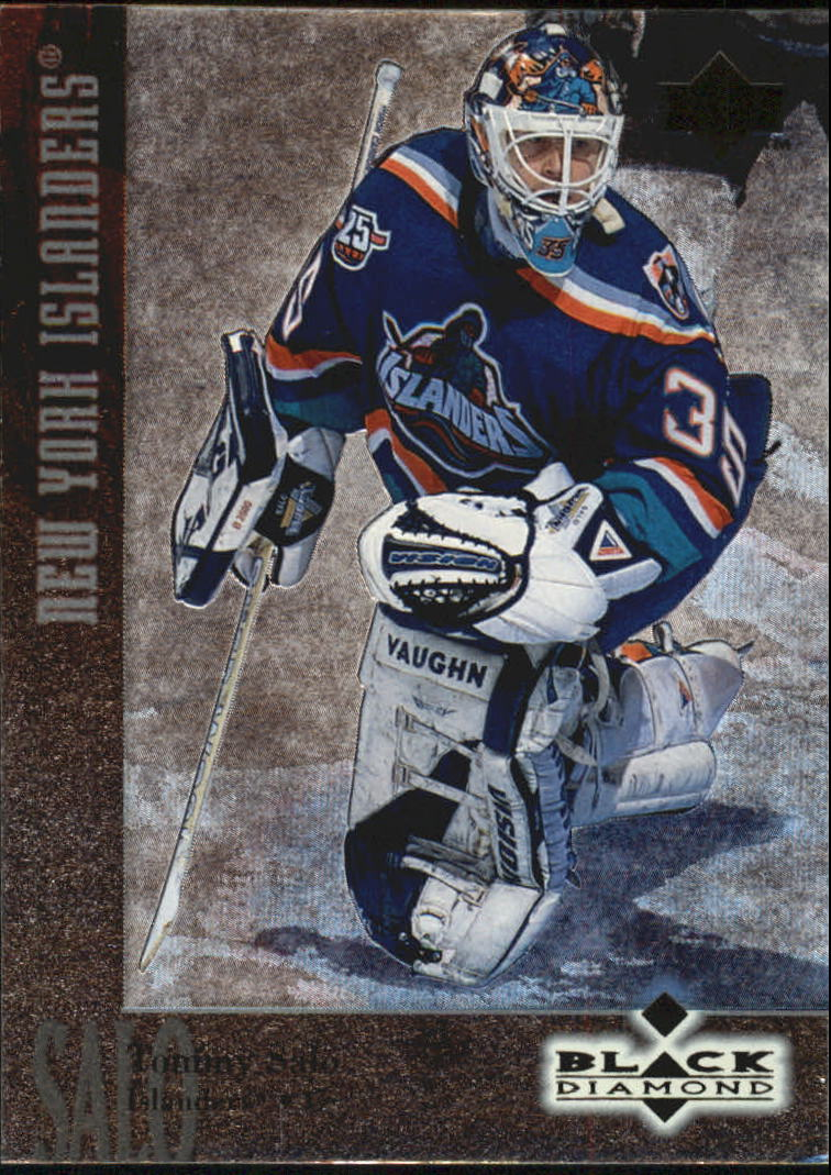 1996-97 Black Diamond #31 Tommy Salo