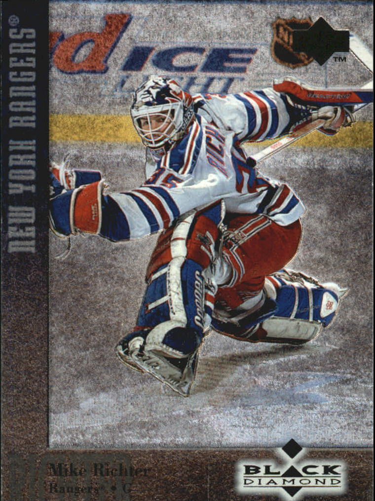 1996-97 Black Diamond #35 Mike Richter