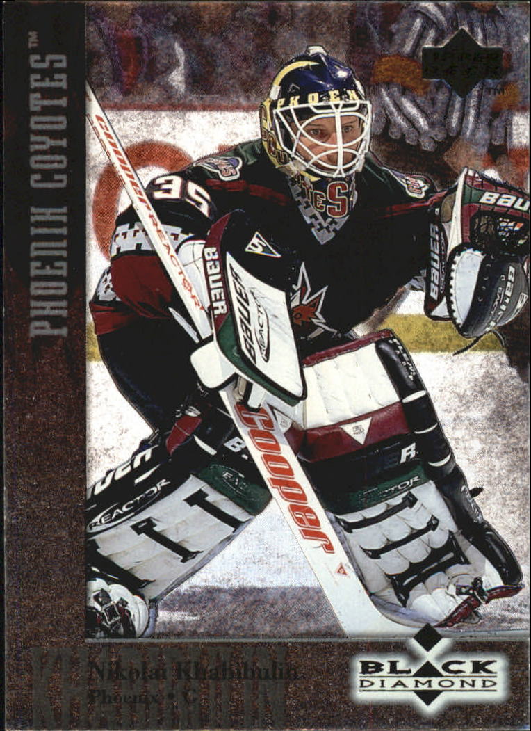 1996-97 Black Diamond #36 Nikolai Khabibulin