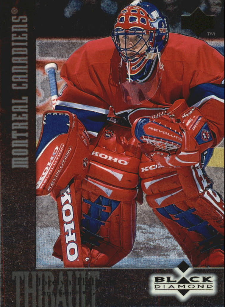 1996-97 Black Diamond #41 Jocelyn Thibault