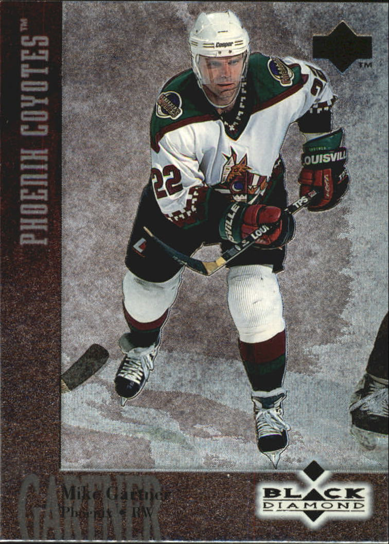 1996-97 Black Diamond #42 Mike Gartner