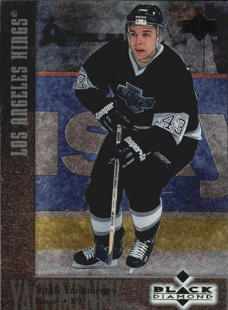 1996-97 Black Diamond #43 Vitali Yachmenev