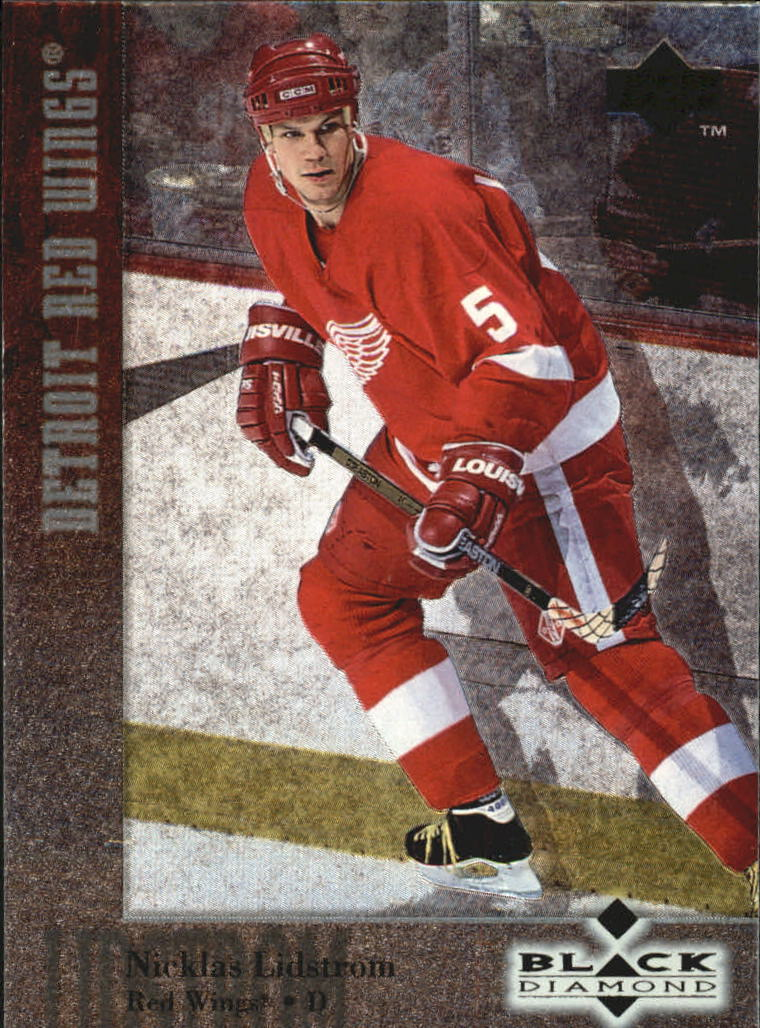 1996-97 Black Diamond #50 Nicklas Lidstrom