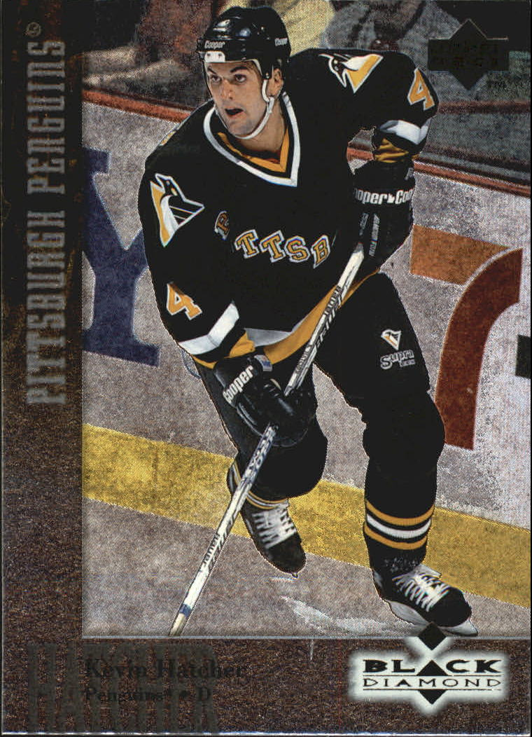 1996-97 Black Diamond #54 Kevin Hatcher