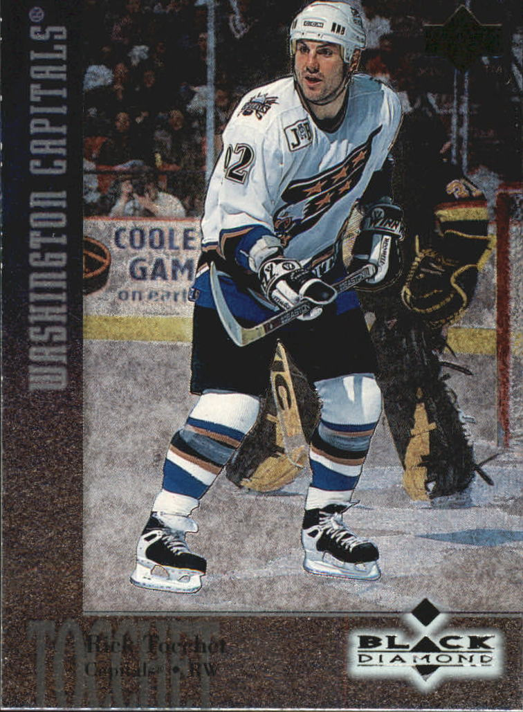 1996-97 Black Diamond #55 Rick Tocchet