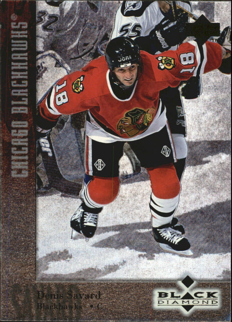 1996-97 Black Diamond #58 Denis Savard