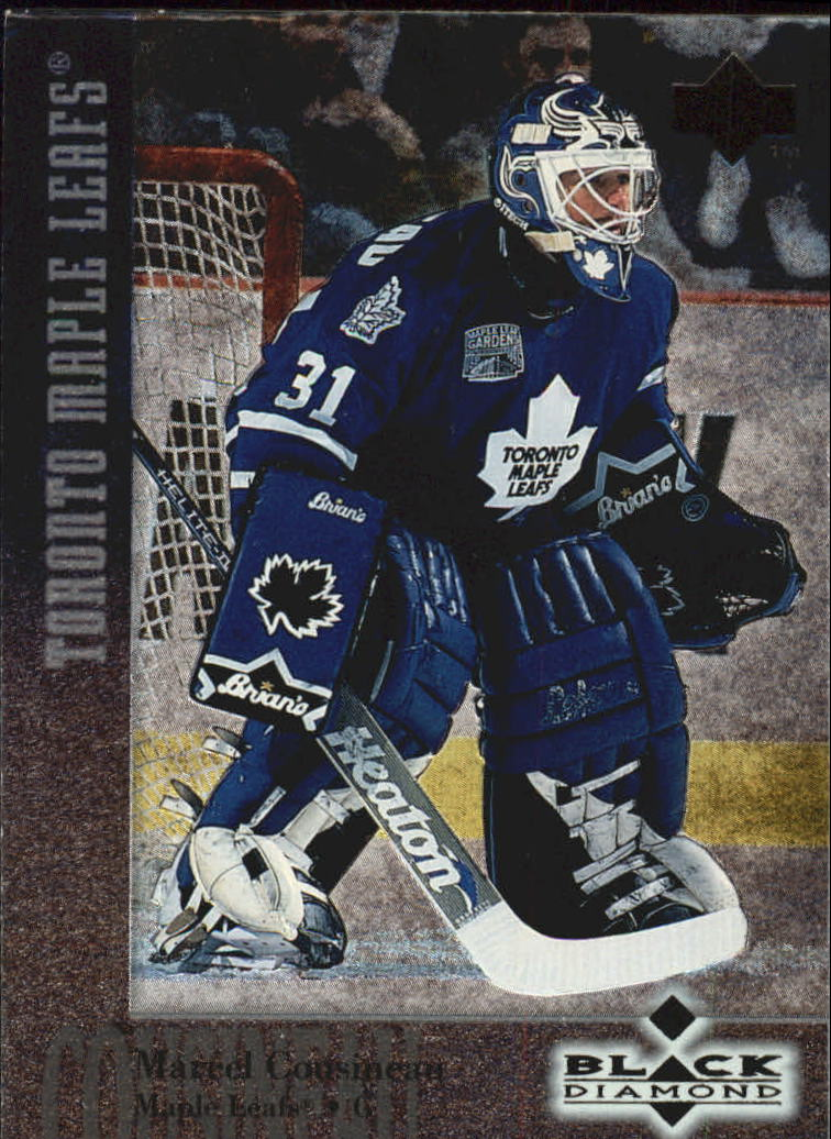 1996-97 Black Diamond #63 Marcel Cousineau RC