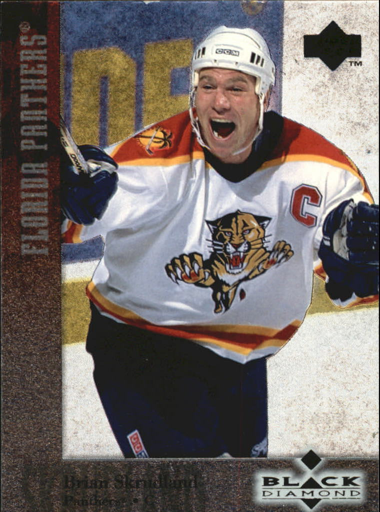 1996-97 Black Diamond #64 Brian Skrudland