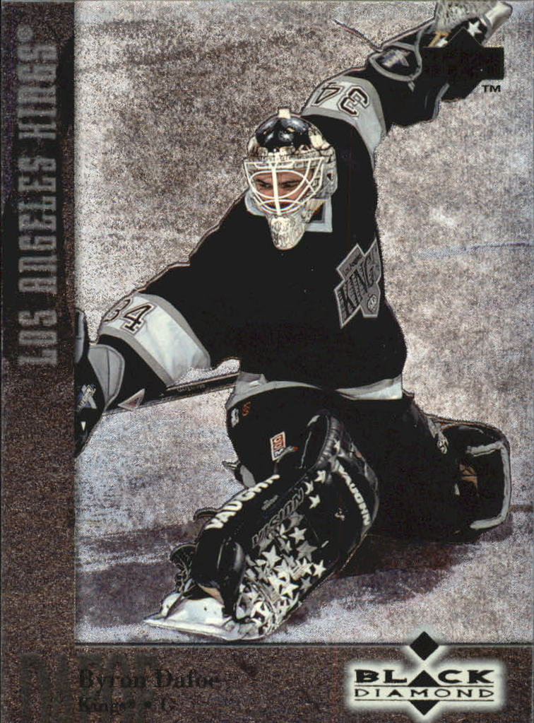 1996-97 Black Diamond #65 Byron Dafoe
