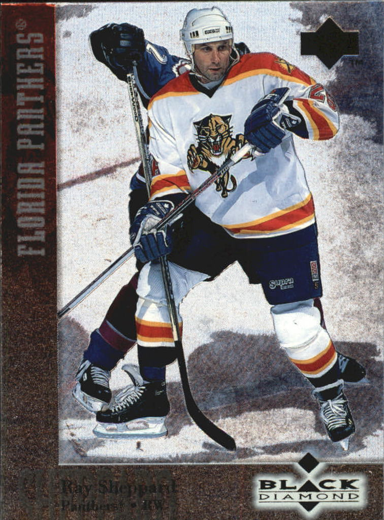1996-97 Black Diamond #66 Ray Sheppard