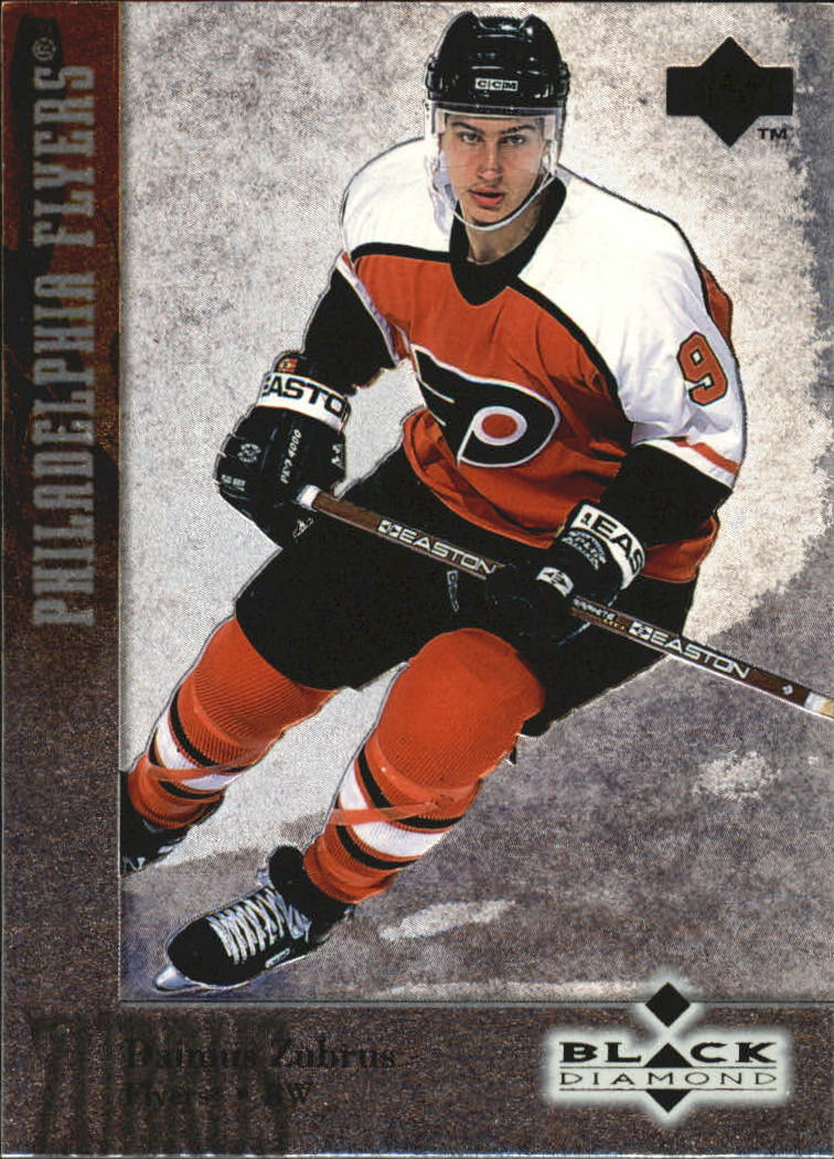 1996-97 Black Diamond #68 Dainius Zubrus RC